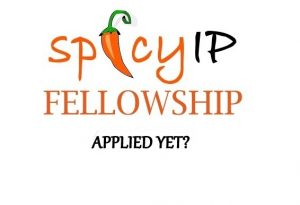 SpicyIP Fellowship 2019-20 [Stipend Rs. 45,000/Year]: Apply by July 31