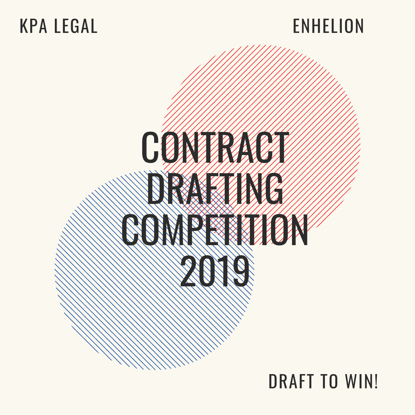 KPA Legal & Enhelion's Contract Drafting Competition, 2019: Register by Sep 25
