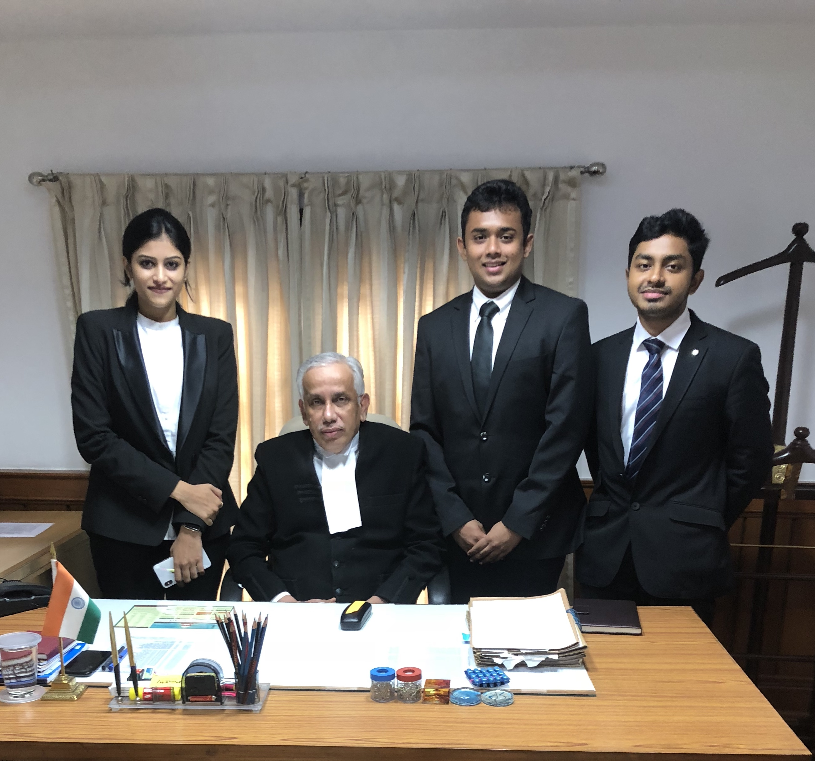 Internship Experience @ Hon'ble Justice Abdul Nazeer, Delhi: Preparing Case Briefs, Research Work,
