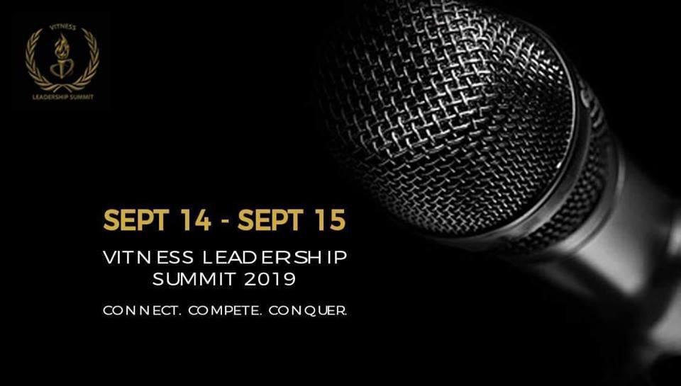 VITNESS Leadership Summit 19 @ VIT School of Law, Chennai [Sep 14-15]: Registrations Open [VIA NOTICEBARD]