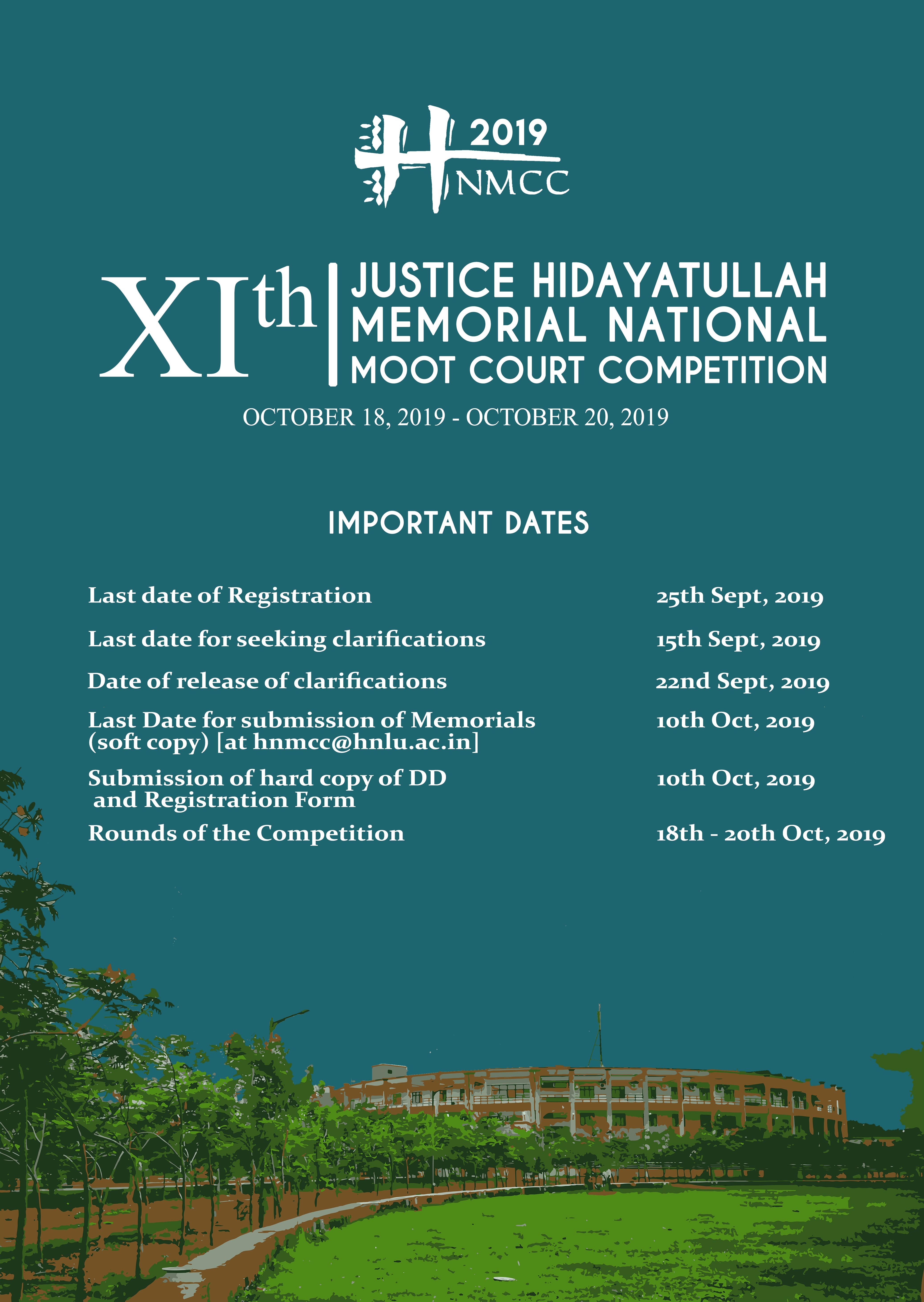 Justice Hidayatullah Moot Court Competition