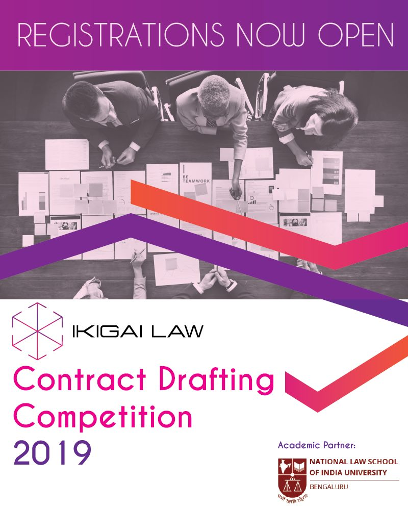 Ikigai Law and NLSIU's Contract Drafting Competition