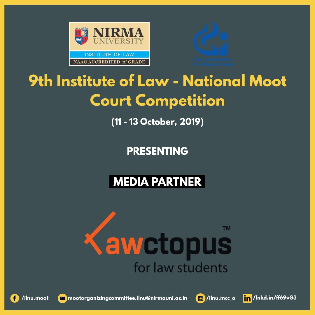 Nirma University Moot Court Competition