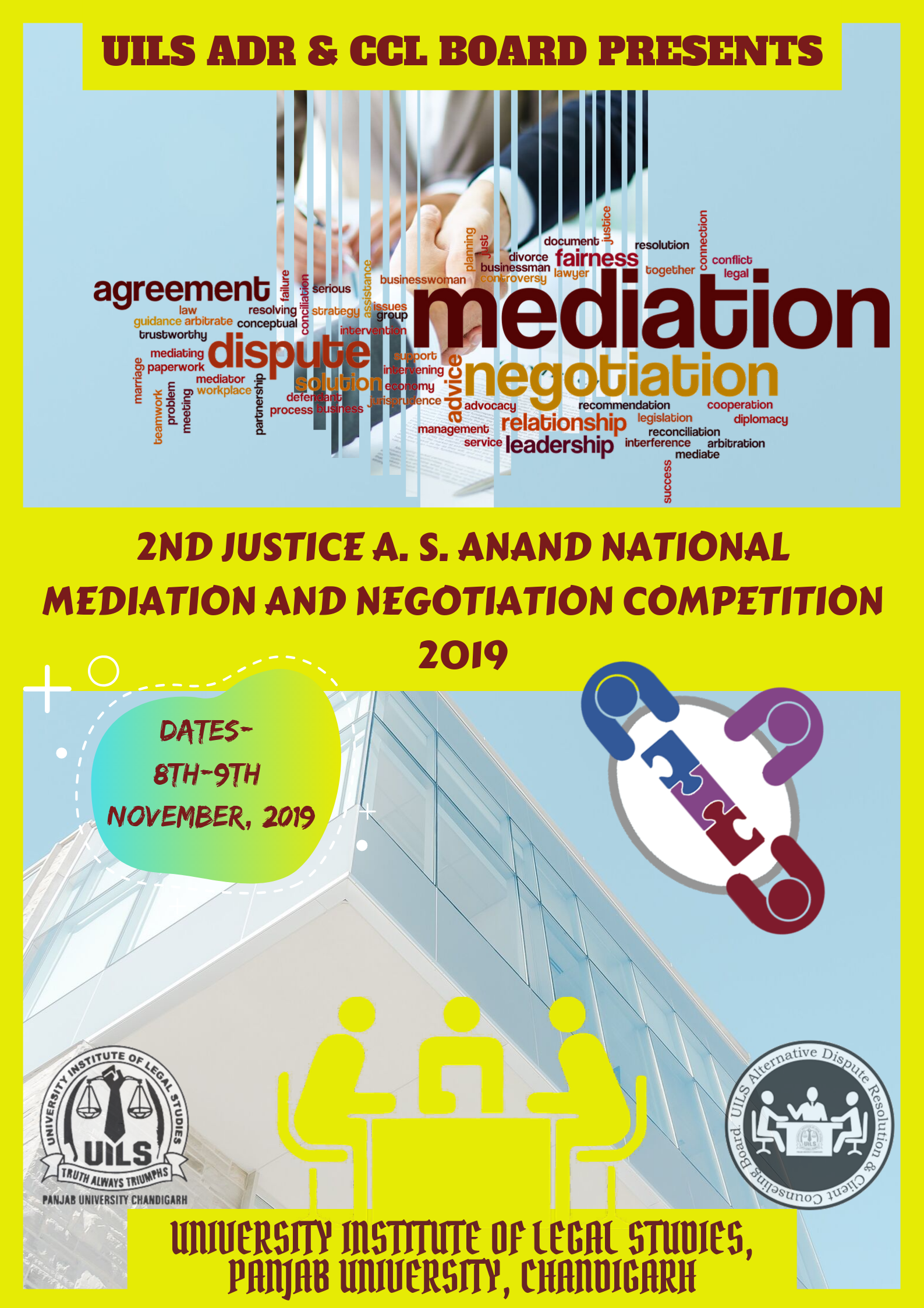 Justice A S Anand Meditation and Negotiation Competition at UILS, Panjab University