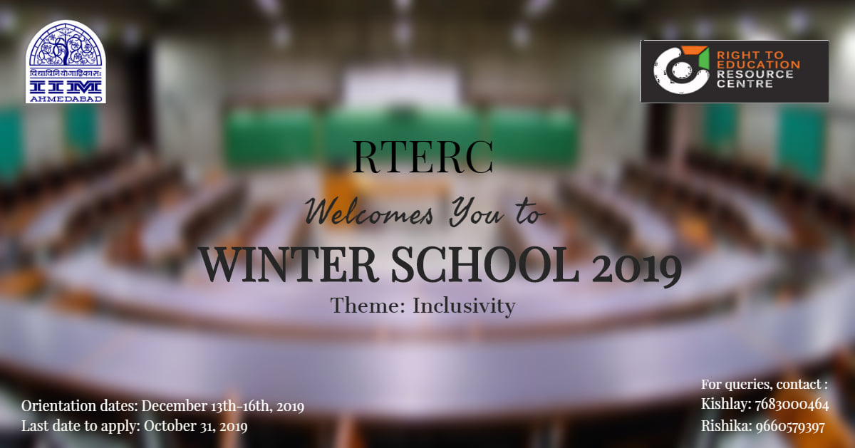 IIM Ahmedabad Winter School 2019