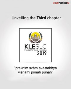 KLE Society Law College Model United Nations 2019 [Nov 16-17, Bangalore]: Registrations Open