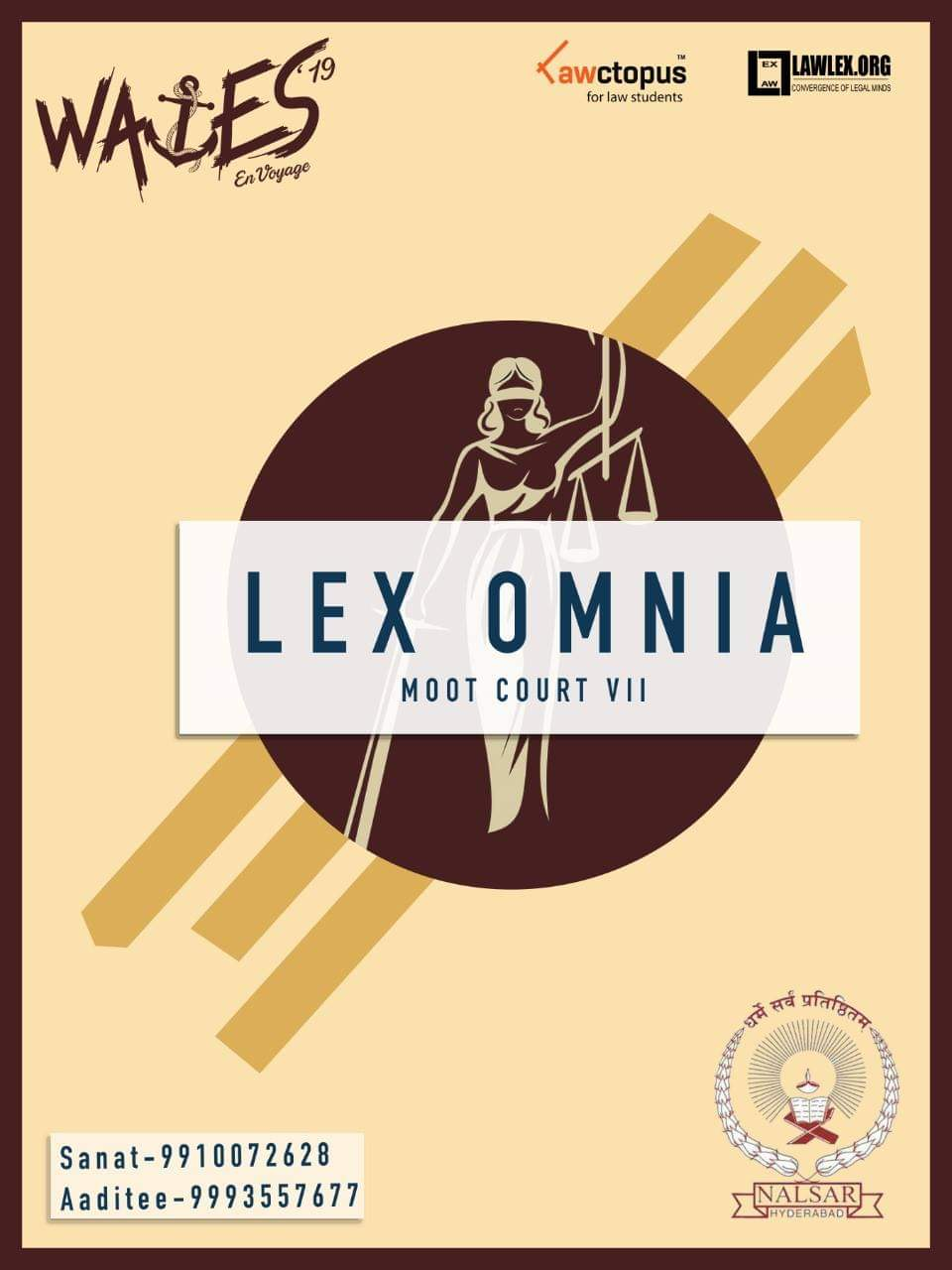 Lex Omnia, Moot Court by BITS Goa in Association with NALSAR, Hyderabad [Nov 1-3, Goa]: Register by Oct 15