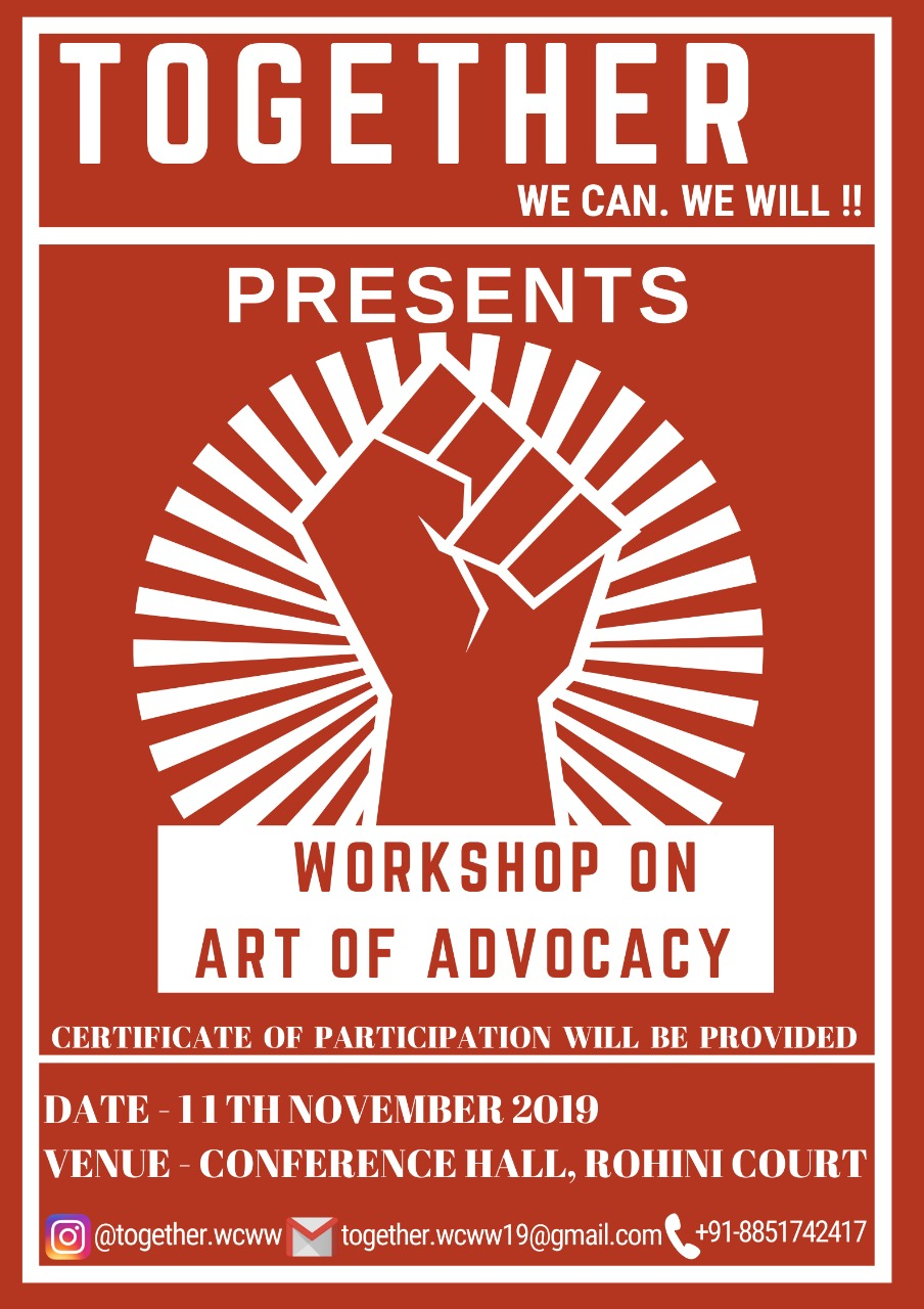 Workshop on Art of Advocacy by Together NGO
