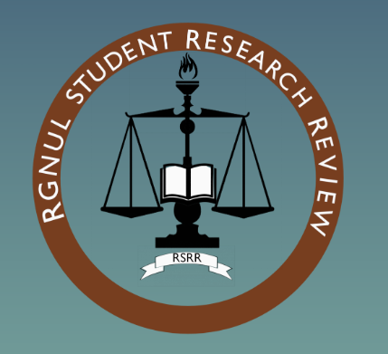 Call for Papers: RGNUL Student Research Review [Vol 6, Issue 1]: Submit by Nov 20