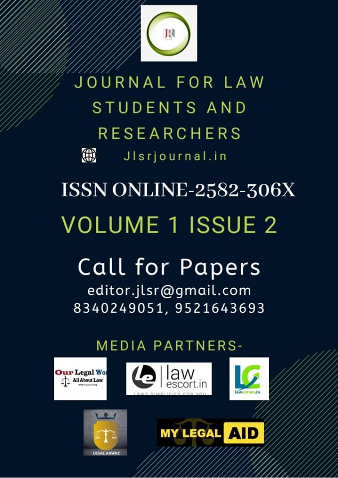 Journal for Law Students and Researchers