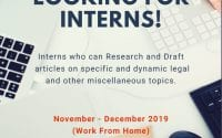Online Internship Opportunity at Law Circa