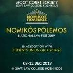 Nomikos Polemos Law Fest 2019 at GLC, Kozhikode