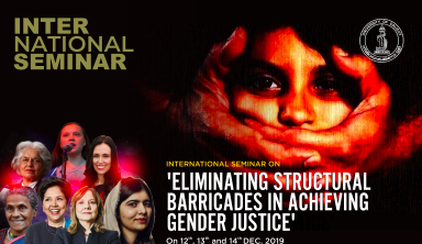 Seminar on Eliminating Barricades in Achieving Gender Justice