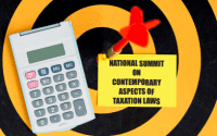 Summit on Taxation Laws at Symbiosis Law School, Hyderabad