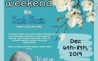 Swaraj Wisdom Weekend with Kamla Bhasin at Swaraj University