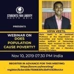 Students for Liberty's Webinar on Does Population Cause Poverty