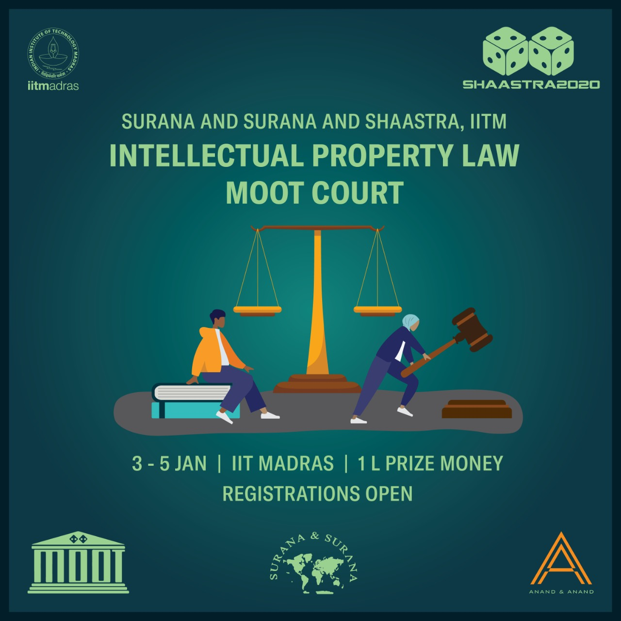Surana & Surana and Shaastra IITM's IP Law Moot Court
