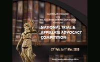 Lloyd National Trial and Appellate Advocacy Competition