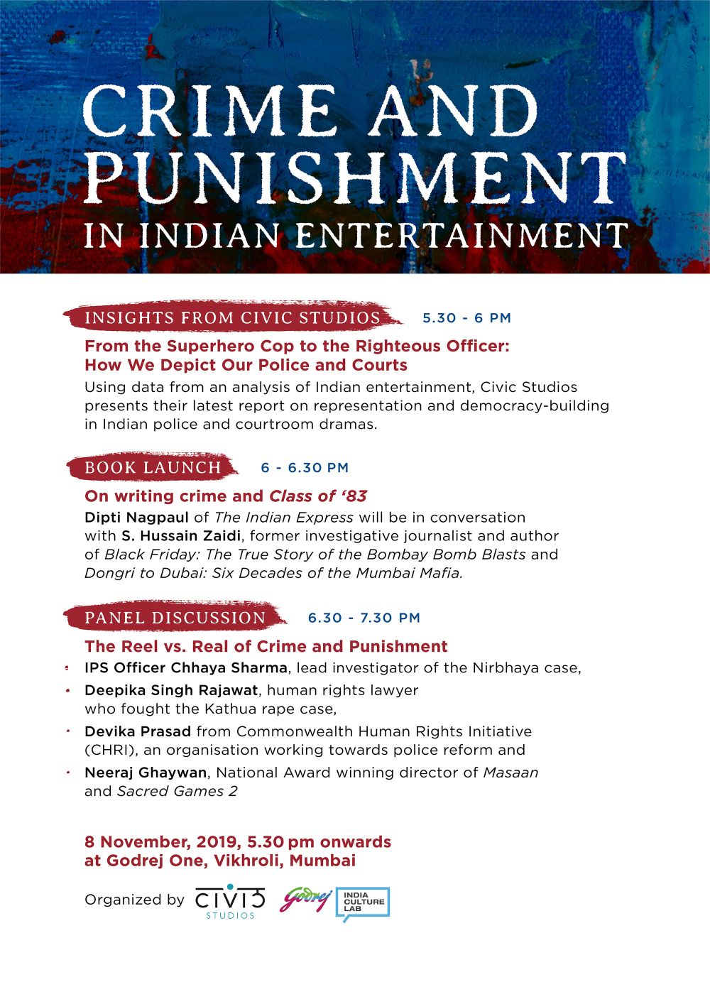 Crime and Punishment in Indian Entertainment by Civic Studios