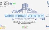 world heritage volunteers ahmedabad 2019