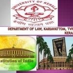 Seminar on Constitution of India at University of Kerala