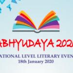 Abhyudaya 2020: Literary Event at S S Khanna Girls Degree College, Prayagraj