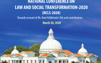 Conference on Law and Social Transformation: 2020 at Alliance University, Bangalore