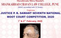 Shankarrao chavan college moot court 2020