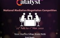 Mediation and Negotiation Competition at Lloyd Law College