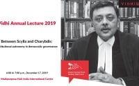 Vidhi Annual Lecture 2019