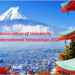 Japanese Association of University Women International Fellowships 2020