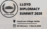 LLoyd Diplomacy Summit