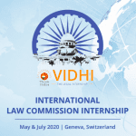 Vidhi International Law Commission Internship by Think India