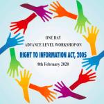 Workshop on Right to Information Act, 2005 at Iswar Saran PG College, Prayagraj