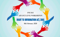 Workshop on Right to Information Act, 2005 at Iswar Saran PG College, Prayagraj