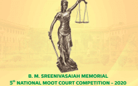 5th B M Sreenivasaiah Memorial National Moot Court Competition