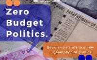 Zero Budget Politics Workshop at Social Fest of IIT Bombay