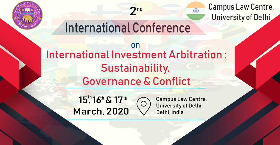 Conference on International Investment Arbitration at Campus Law Centre