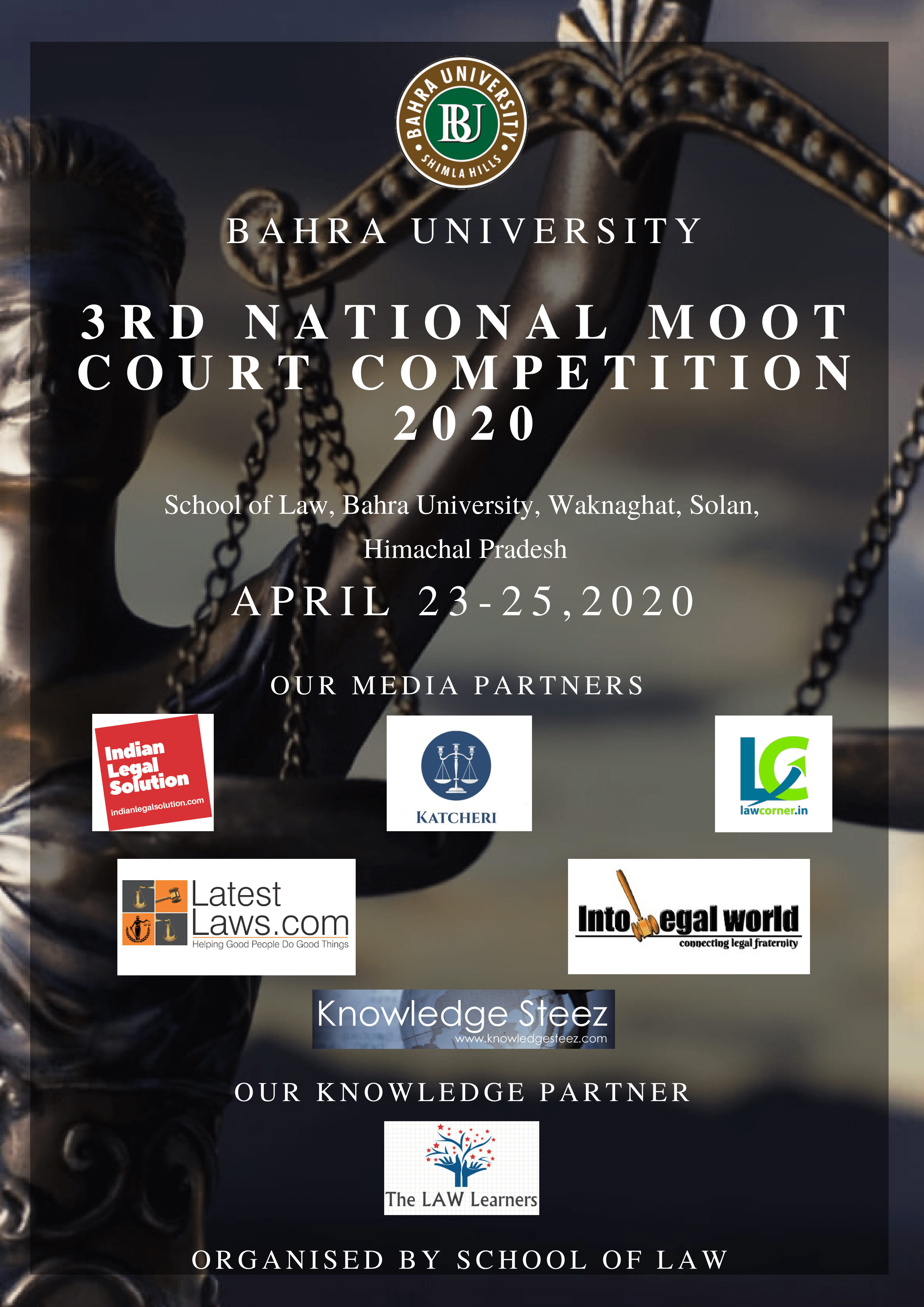 3rd National Moot Court Competition on Criminal and Constitutional Law at Bahra University