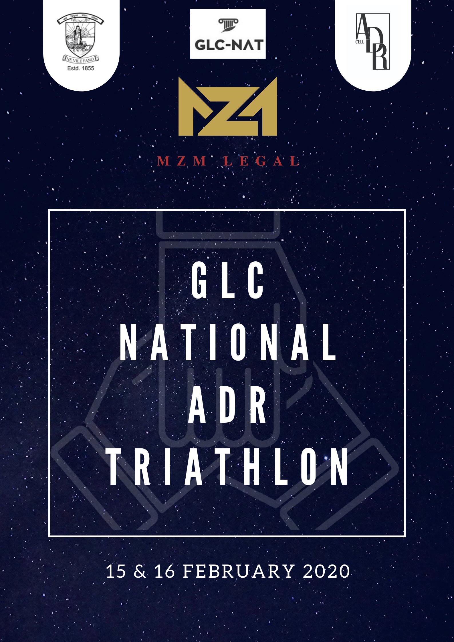 GLC National ADR Triathlon, 2020