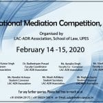 2nd UPES National Mediation Competition 2020