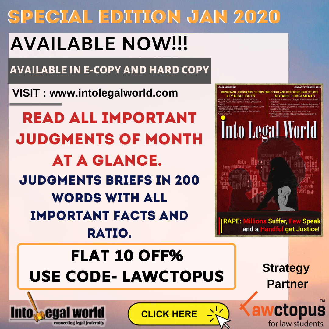 Into Legal World Magazine [January Edition]