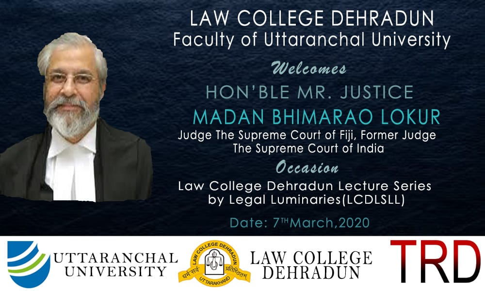 Seminar on Constitutional Law at Law College, Dehardun