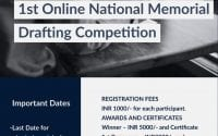 1st Online National Memorial Drafting Competition by IMS