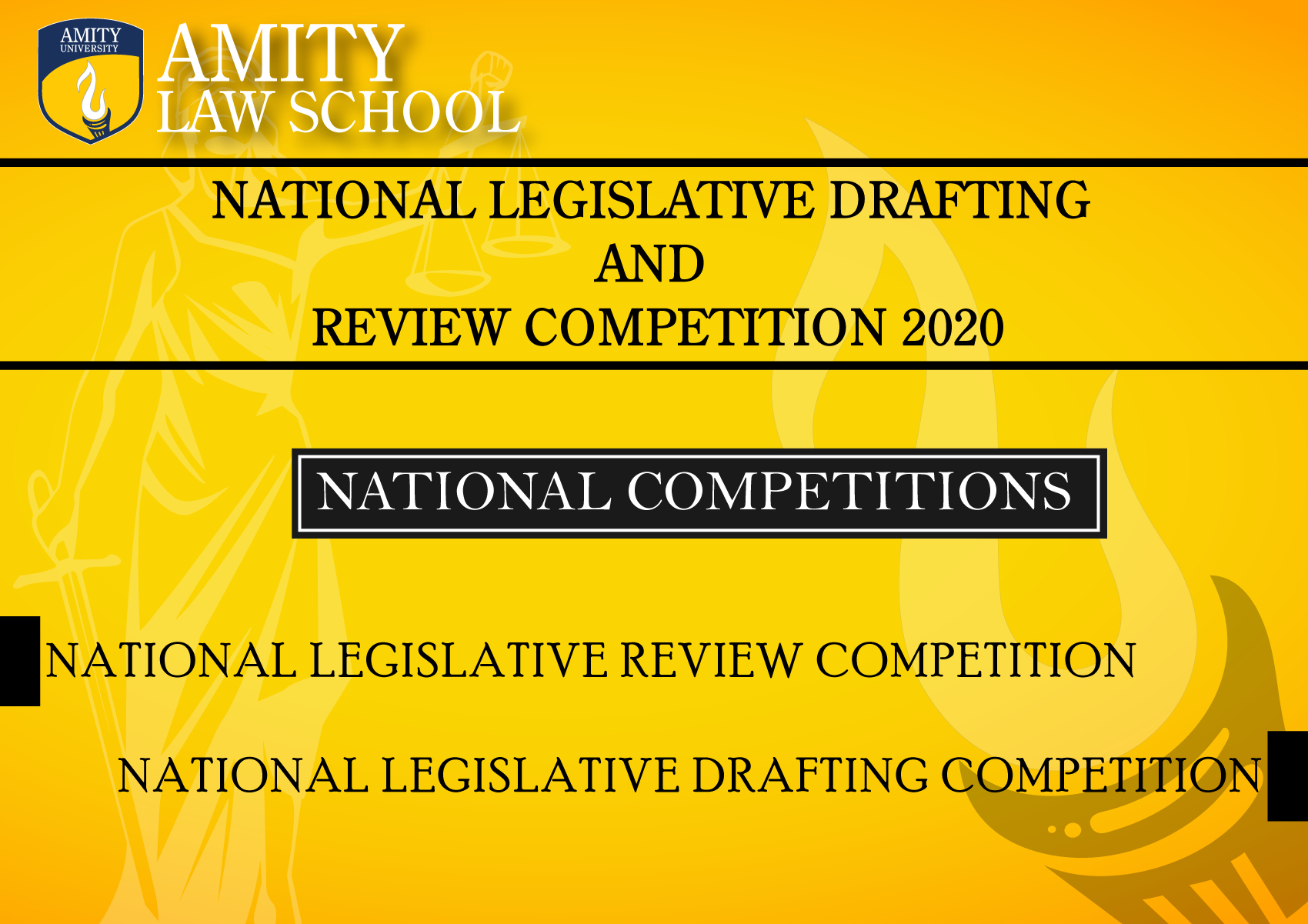 Legislative Drafting and Review Competition at Amity Law School Haryana