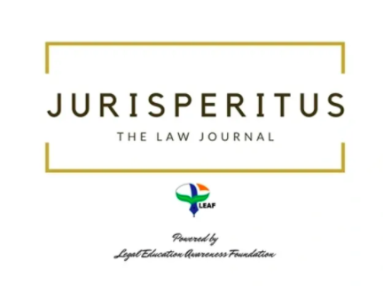 Jurisperitus: The Law Journal