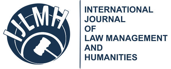 International Journal of Law, Mgmt & Humanities