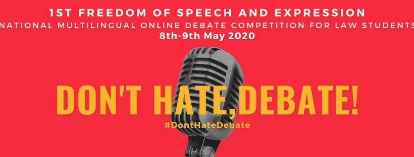 Freedom of Speech & Expression Multilingual Debate Competition by DU Students