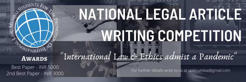 National Legal Article Writing Competition by SPIL, Mumbai