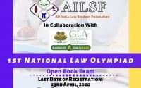 All India Law Students Federation Law Olympiad